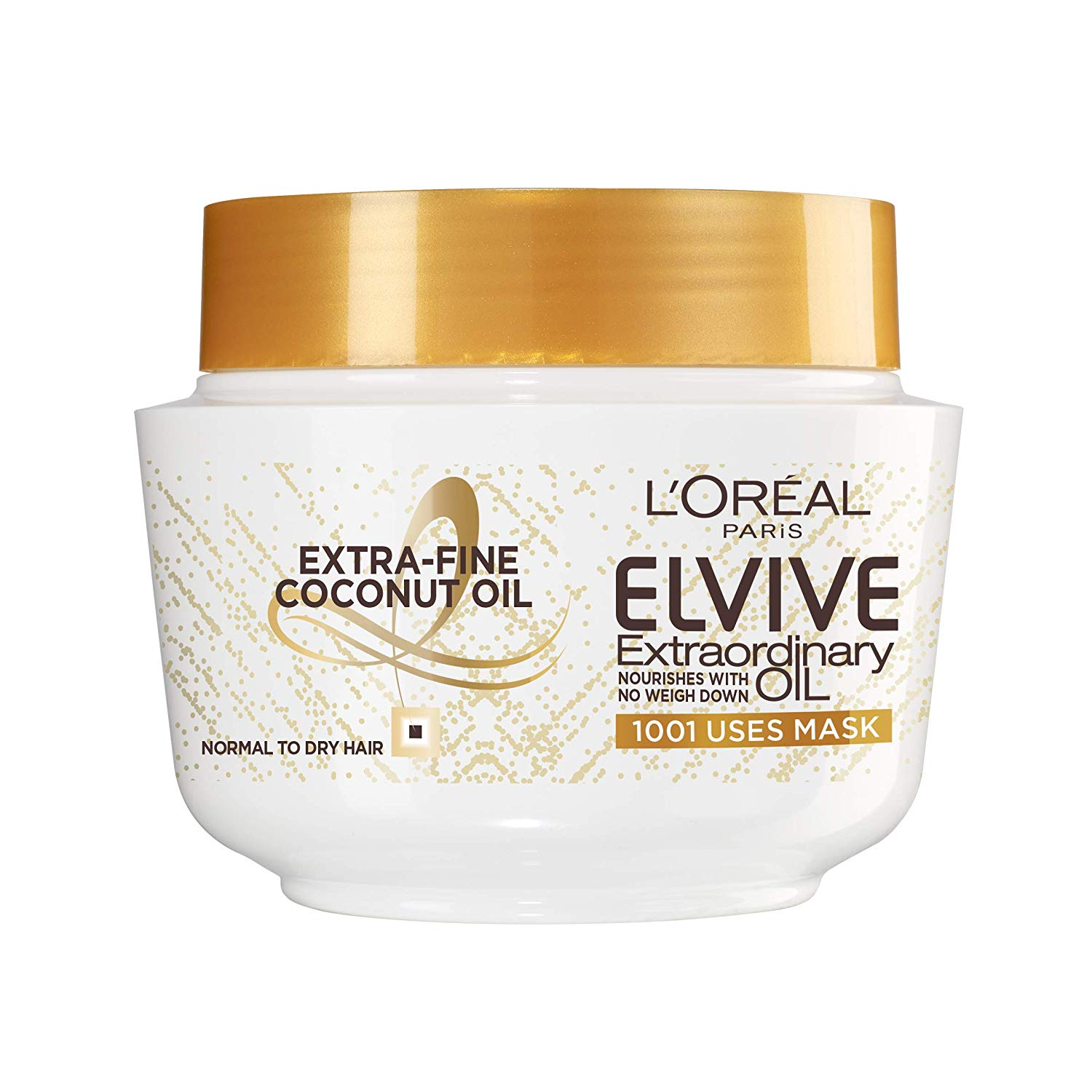 L'Oréal Elvive Extraordinary Oil Coconut Hair Mask Leave-in Conditioner 300ml