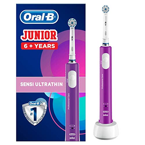 Oral-B Junior Kids Electric Toothbrush Rechargeable