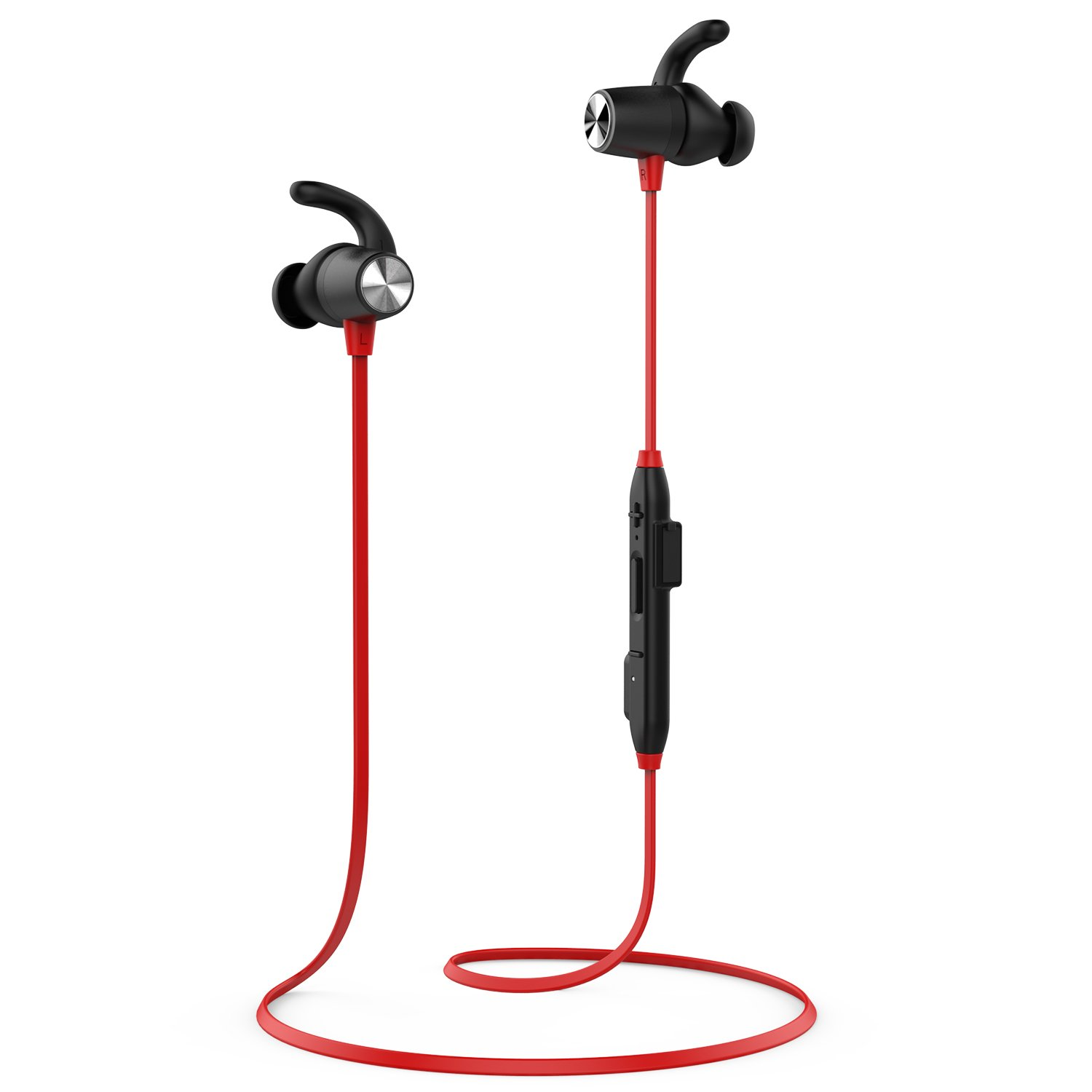Dodocool Magnetic Wireless Bluetooth 4.1 Headphones With Sweat Resistant Design