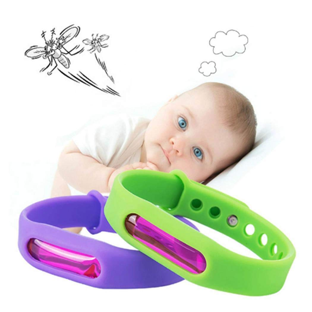 Anti Mosquito Repellent Silicone Bracelet Killer Mosquito Wrist Band Moths