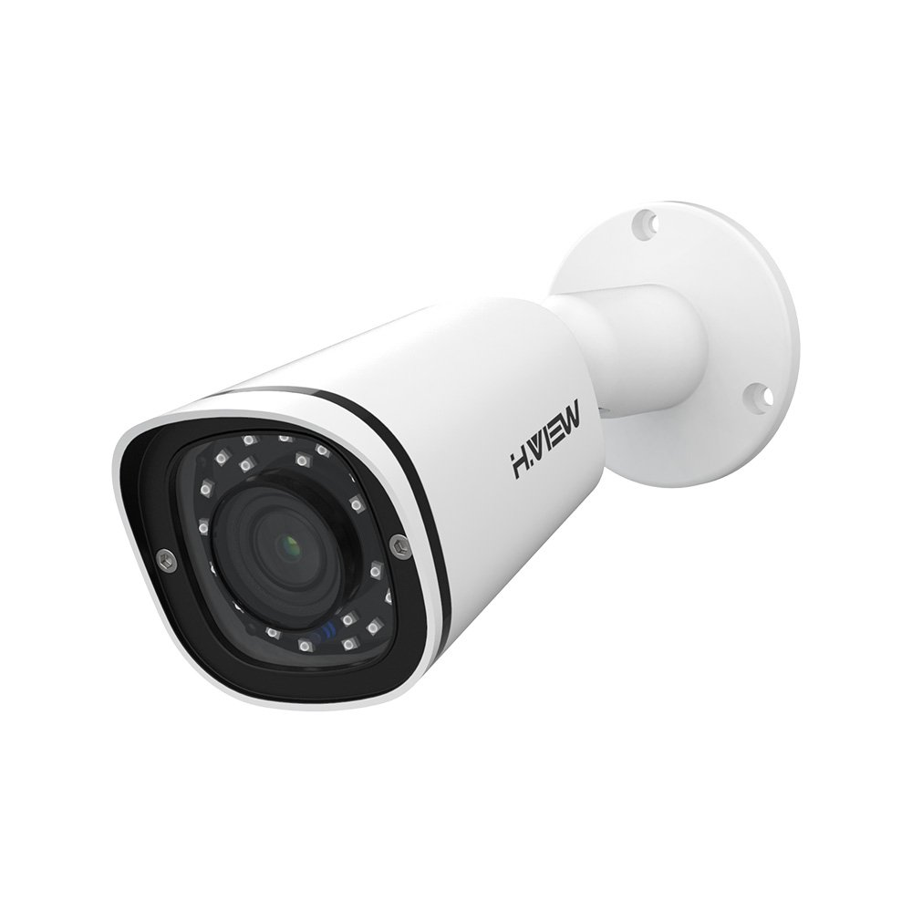 H.VIEW IP POE Security Camera 4.0mp with 2.8mm Lens Super HD surveillance cameras with Audio