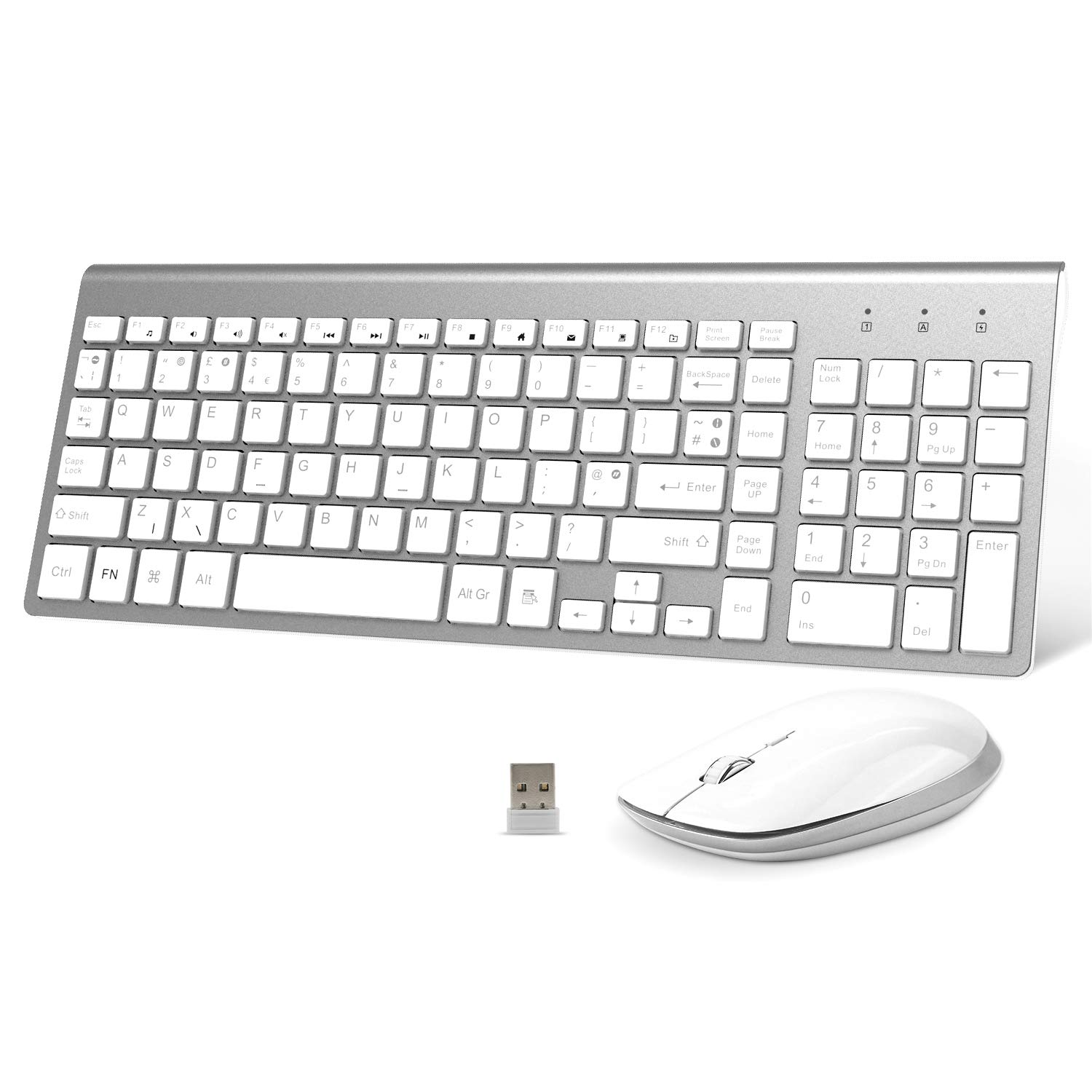 FENIFOX Wireless Keyboard and Mouse