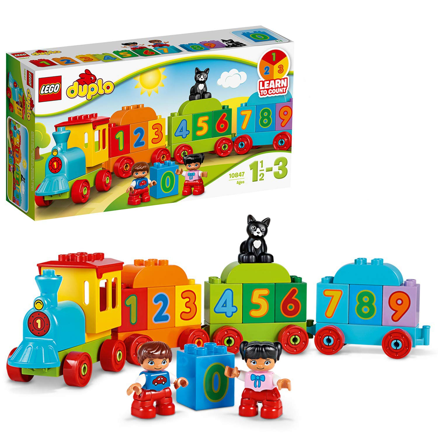 LEGO 10847 DUPLO My First Number Train Toy