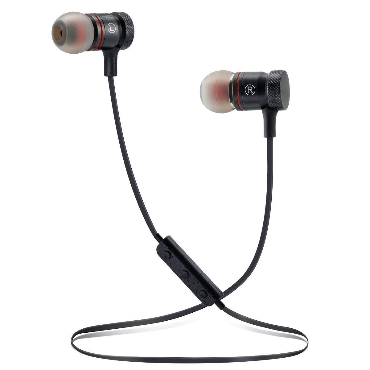 IPX7 Waterproof Wireless Headphones Sports In-ear Earbuds