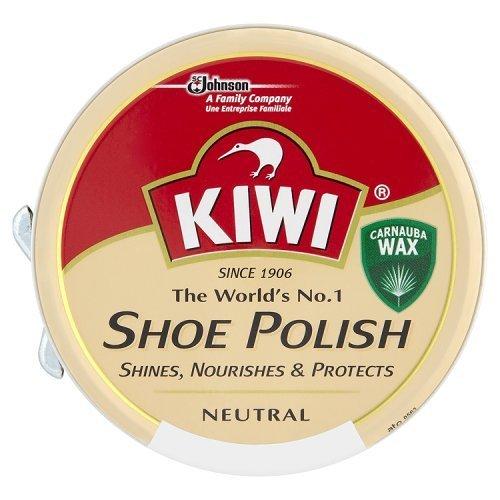 Pack of 12- Kiwi Leather Polish Neutral 50 ml