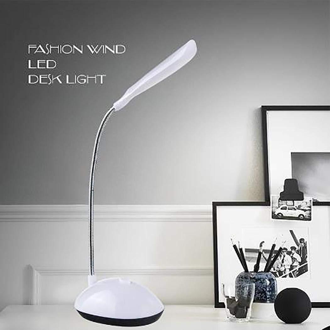 Pongaps LED Desk Lamp 360 Degree Rotating Eye Protection Reading Night Lights