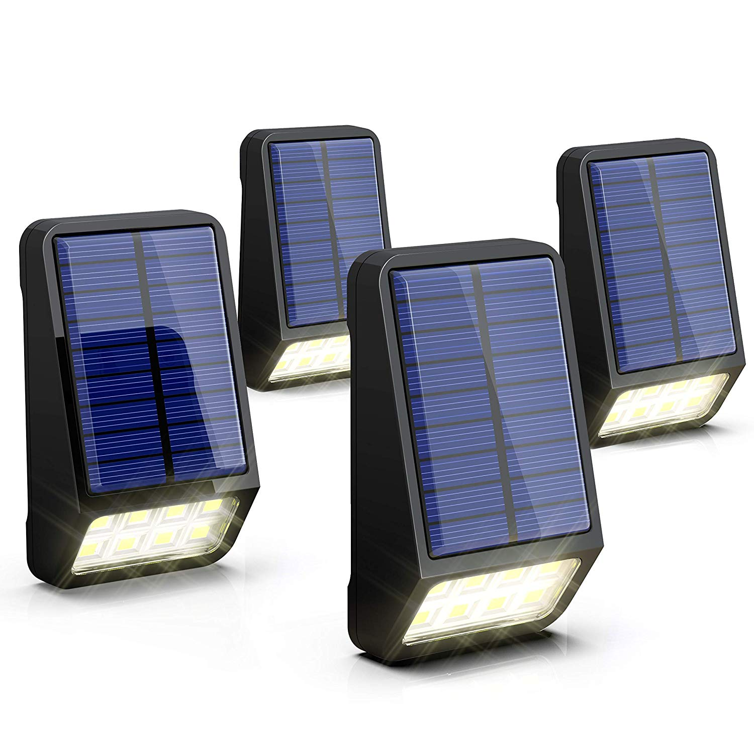 LOHAS Fence Wall Lights, Solar Security Lights Outdoor