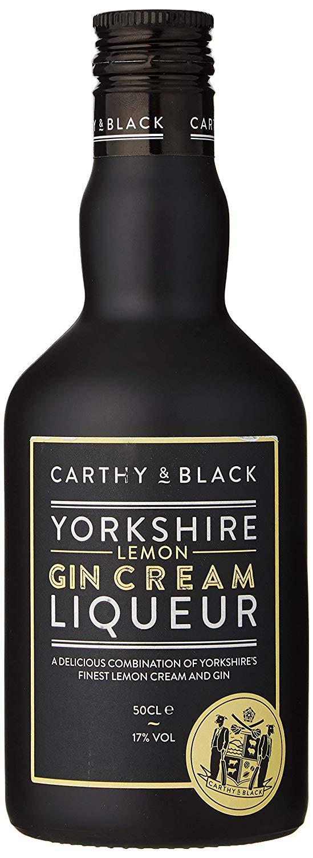 Carthy & Black Lemon Gin Cream Liqueur 50cl