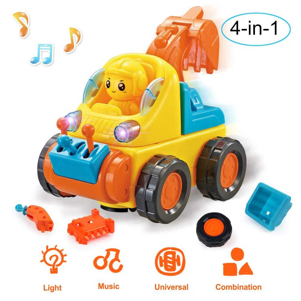 BeebeeRun Toys Car for 3 Years Old Boys Girls