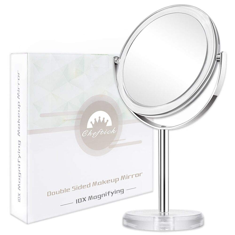 Cheftick Double Side Magnifying Makeup Mirror