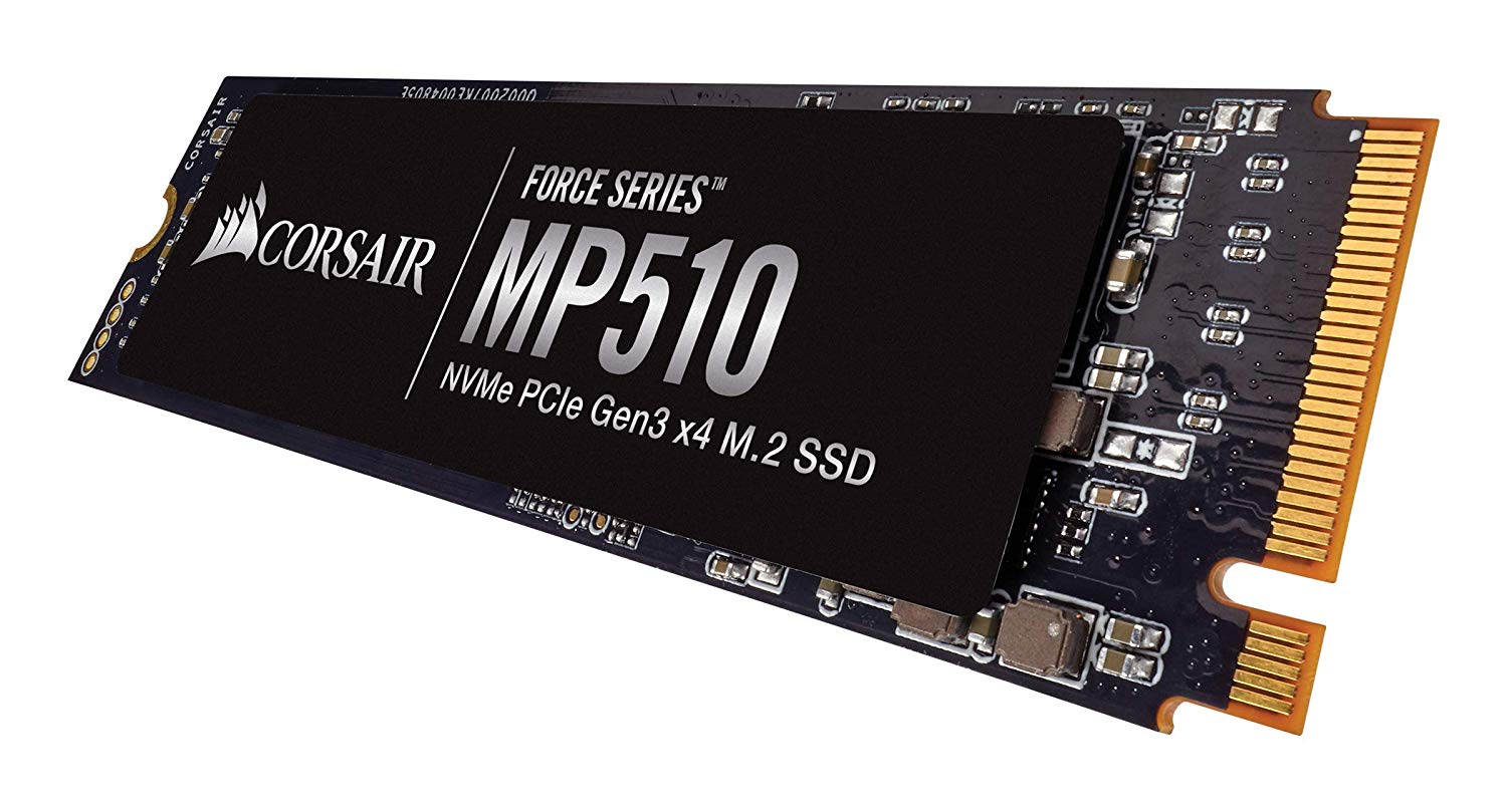 Corsair CSSD-Force Series MP510 480 GB NVMe PCIe Gen3 x 4 M.2 Solid State Drive