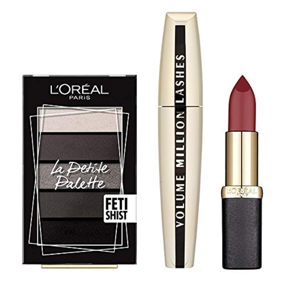 L'Oreal Paris Glam Me Up Party 3-Piece Make Up Kit for Her