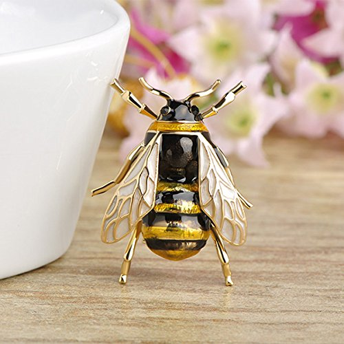 Cute Bee Fly Insect Brooch Clothes Accessories Enamel Brooches Jewelry