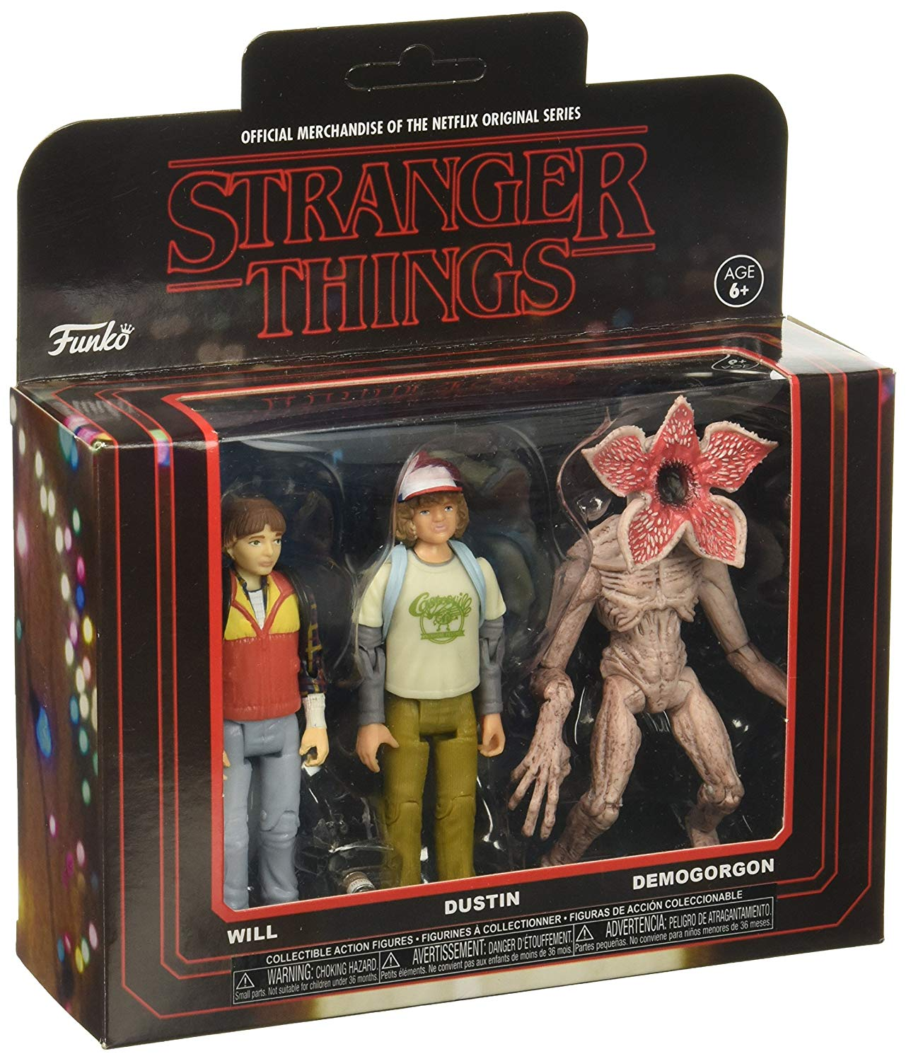 Funko Action Figure: Stranger Things 3PK-Pack 1 Collectible