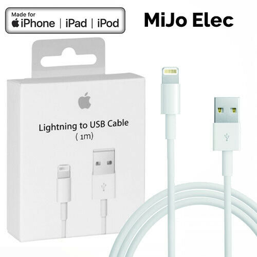 60% off 1m Lightning to USB charging cables. Free P&P and Multi Buy Discount