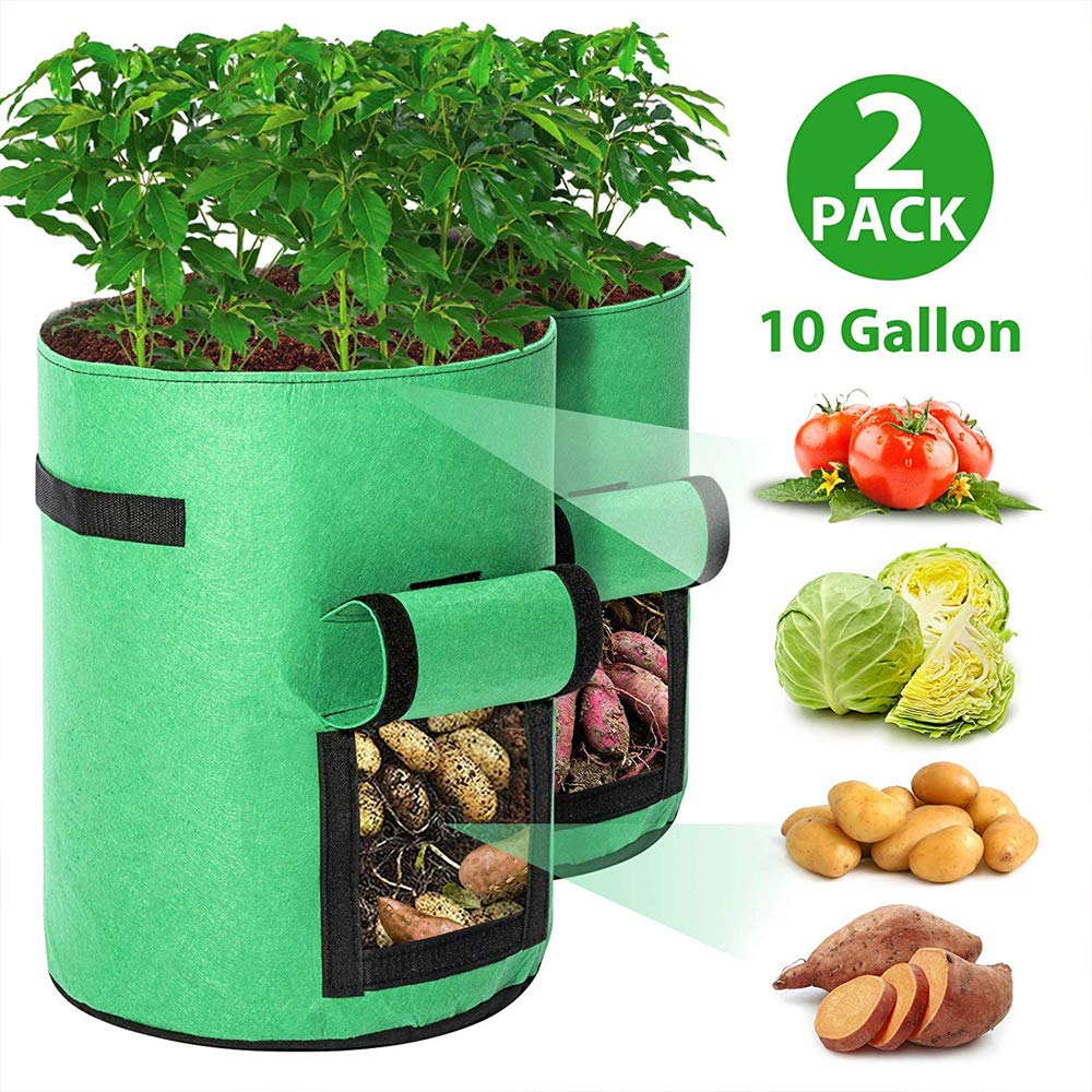 kyhon 2 Pack Plant Grow Bags