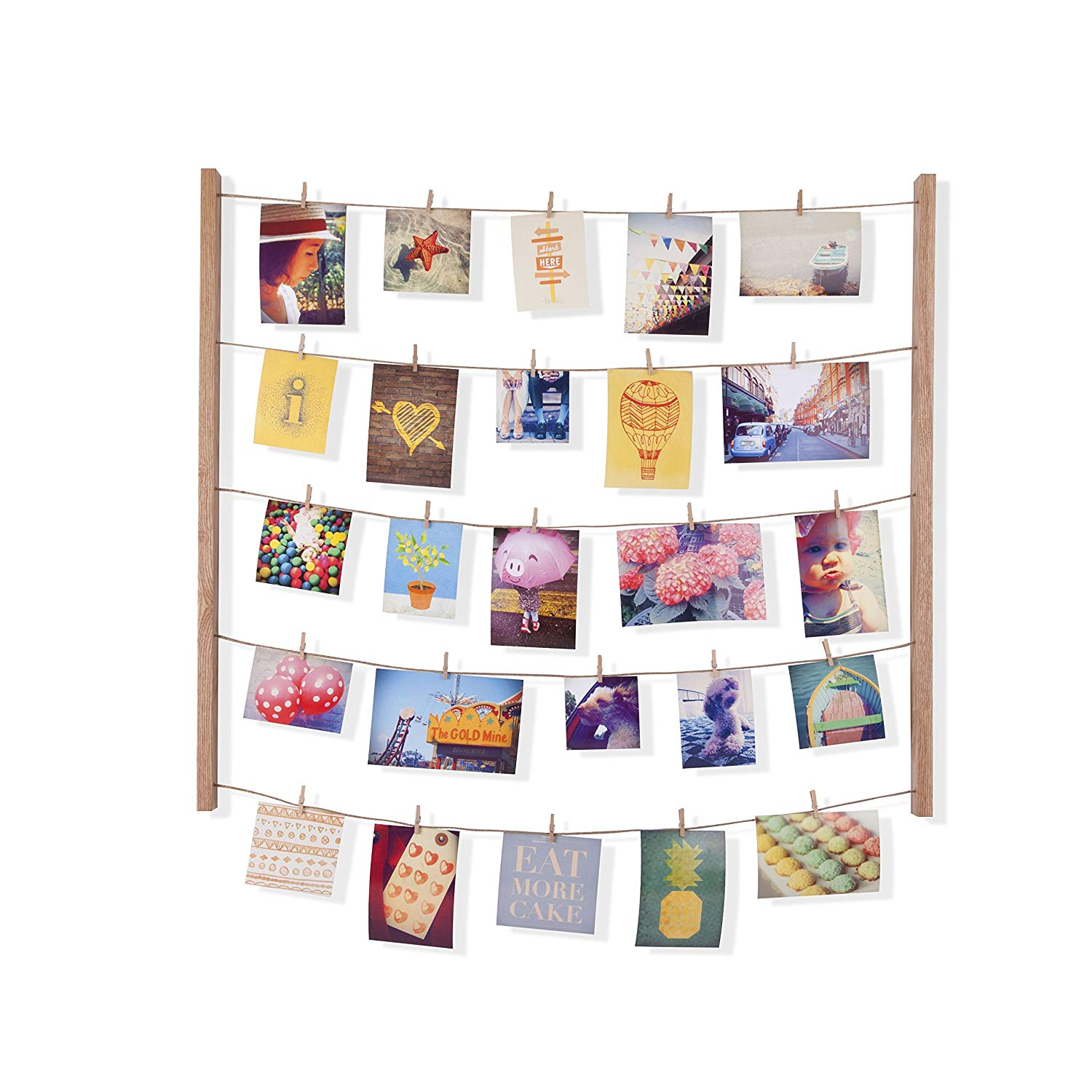 Umbra Hangit Photo Display – DIY Picture Frames Collage Set