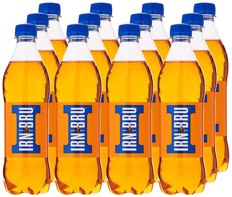 IRN-BRU Bottles, 500ml – Pack of 12