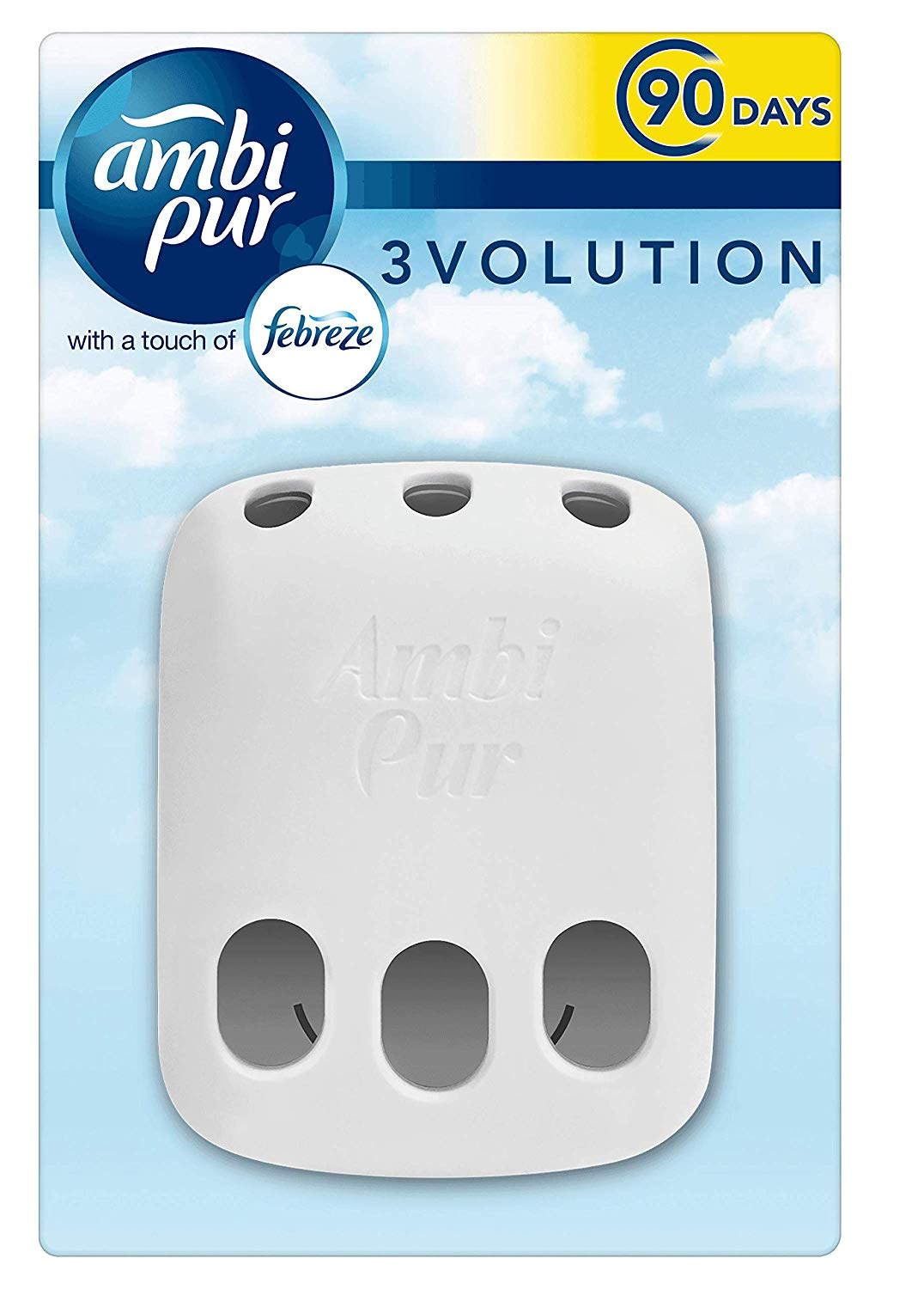 Pack of 3 – Febreze with Ambi Pur 3Volution Air Freshener Plug-In Diffuser