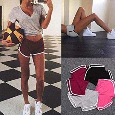 Women Summer Sports Shorts Gym Workout Yoga Shorts