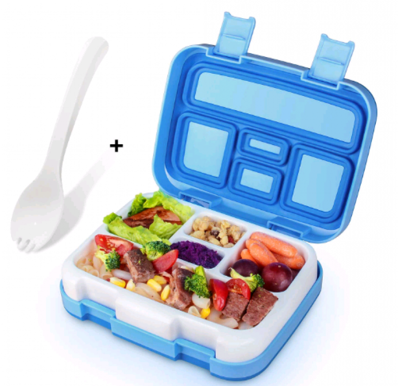 50% off KidsHobby 5 Compartments Bento Lunch Box
