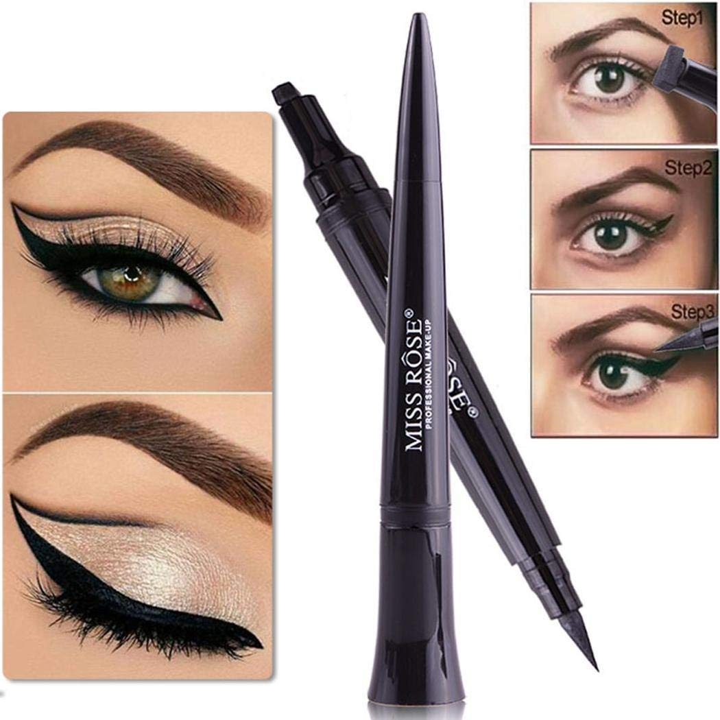 80% off Waterproof Long Lasting Eye Makeup Bullet Head Eyeliner Pencil Eyeliners