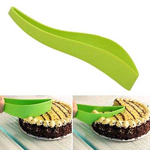 Reusable Cake Divider Food Grade Plastic One-Piece Cut Cake Knife Slicer