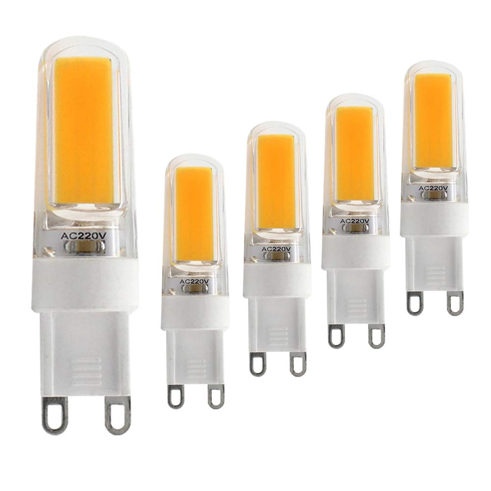 G9 Dimmable LED Bulb GXZ 5W (40W Halogen Equivalent) 380LM Soft White (3000K)