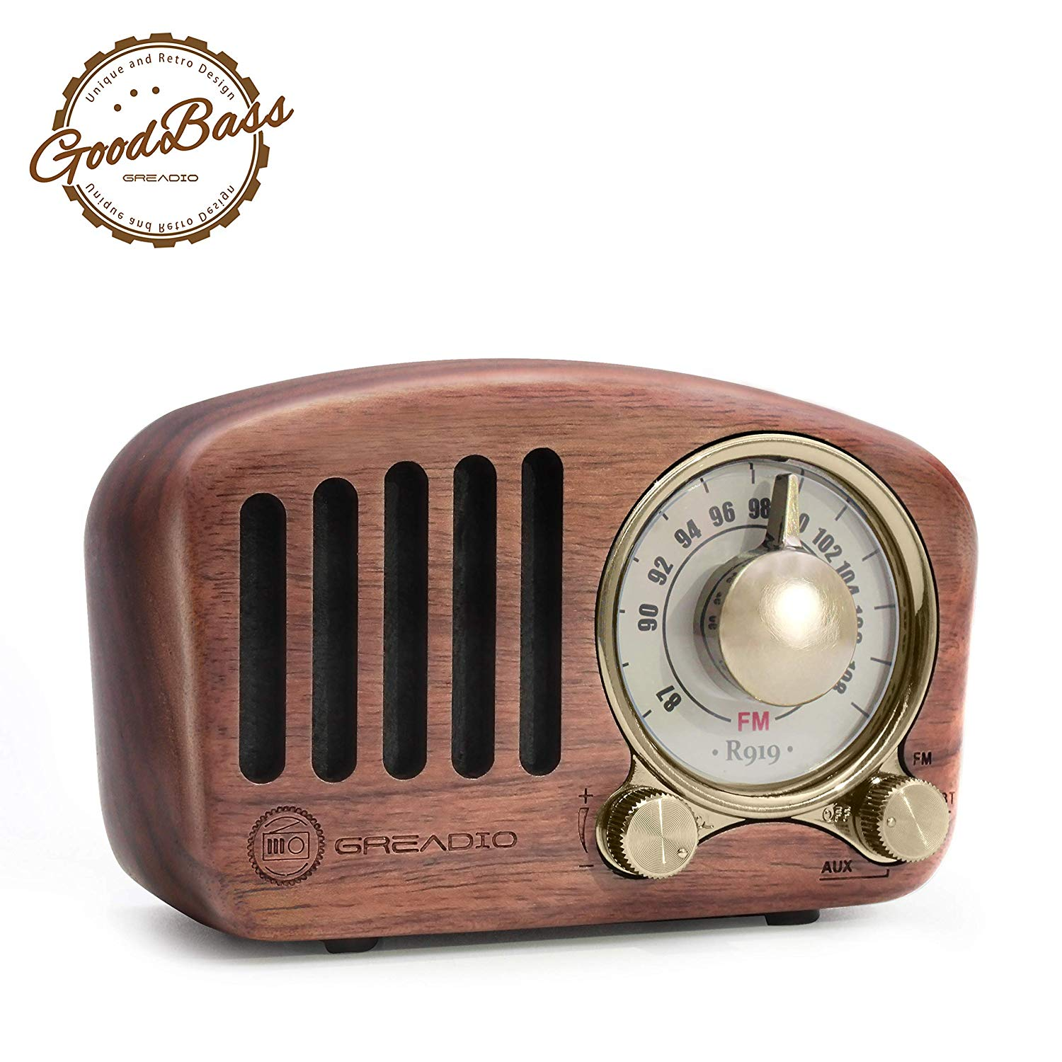 Vintage Radio Retro Bluetooth Speaker