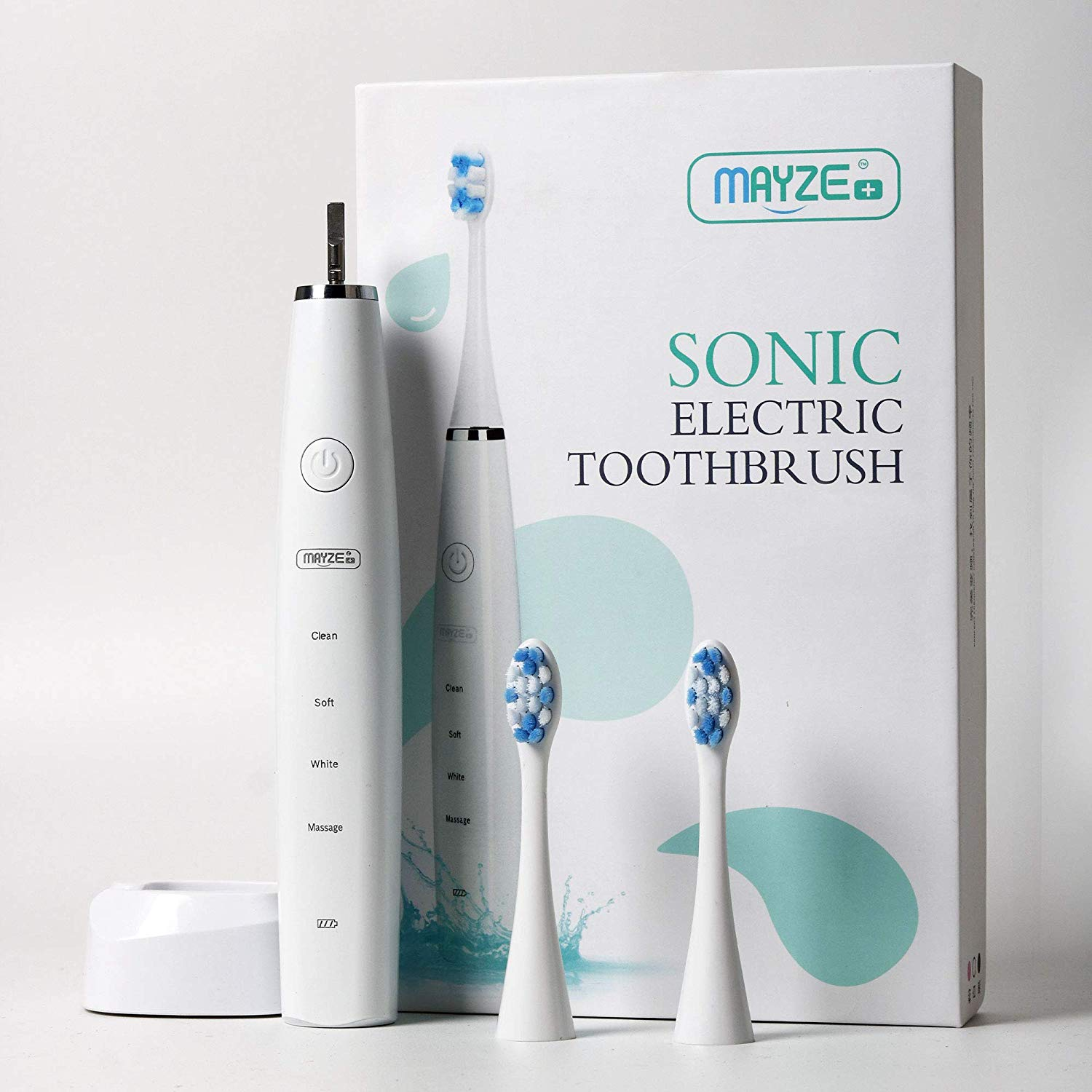 MAYZE Sonic Electric Rechargeable Toothbrush