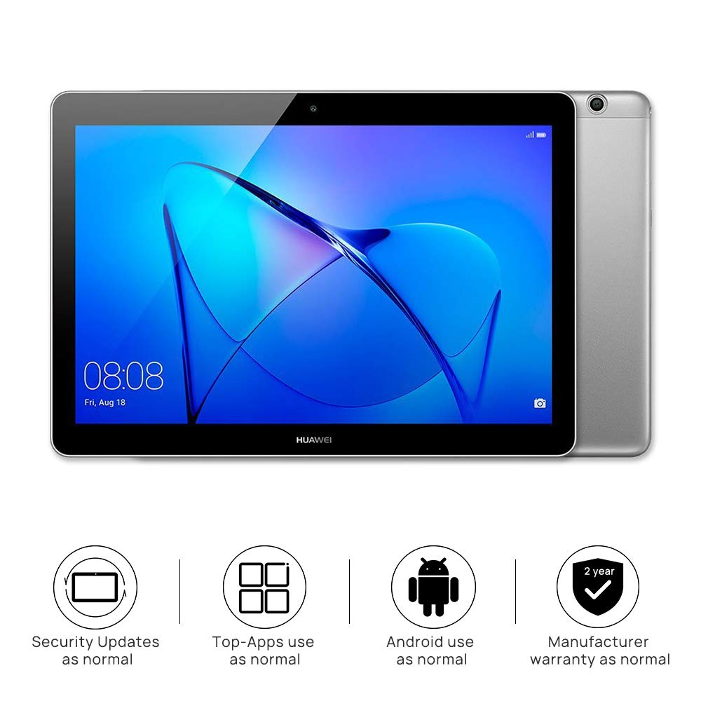 Huawei MediaPad T3 10″ Tablet – (Qualcomm Quad-core 1.4GHz, RAM 2GB, ROM 16GB, IPS-Display)