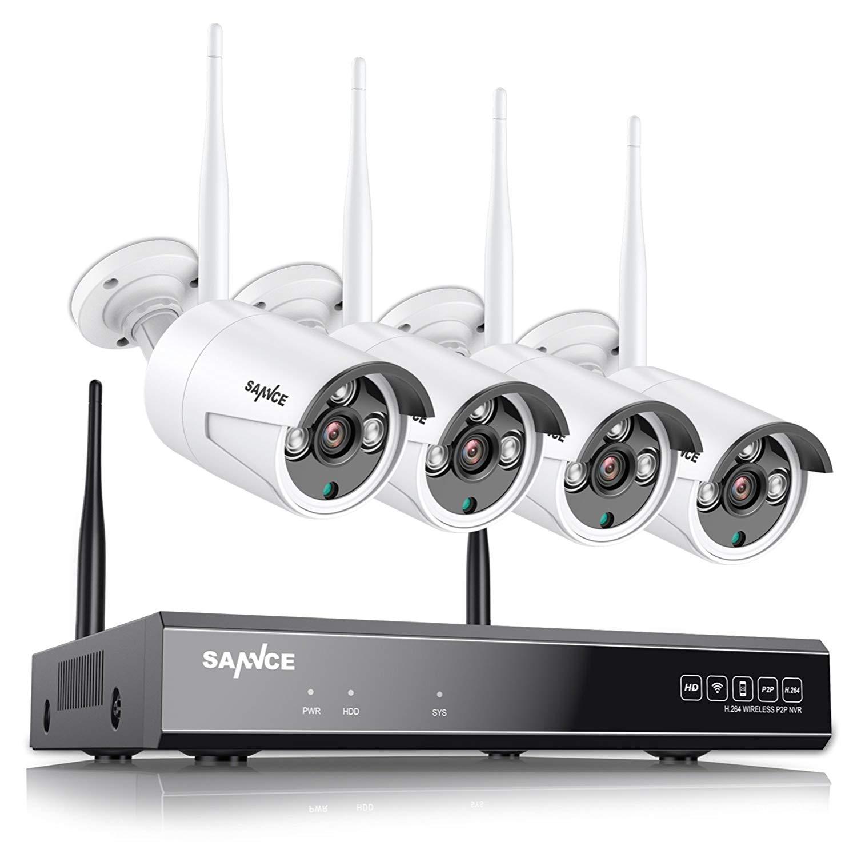 SANNCE Wireless CCTV Camera System 8CH 1080P NVR Recorder