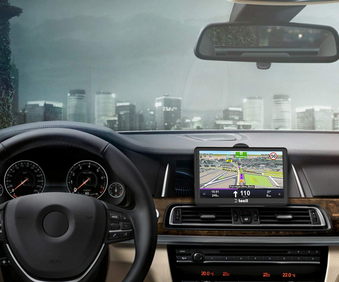 Sat Nav 7 Inch 8 GB Sat Navs for Cars High Brightness Touchscreen Gps Navigator Pre-installed UK