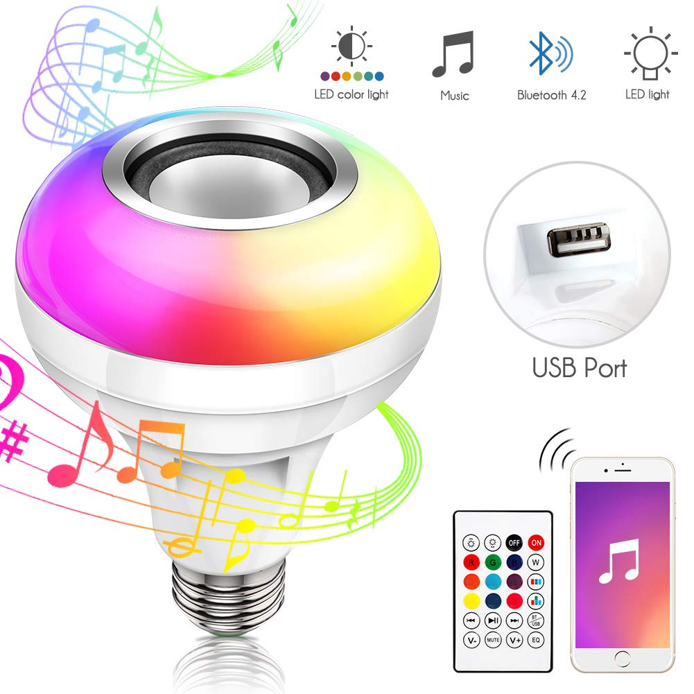 Haofy Music LED Light Bulb
