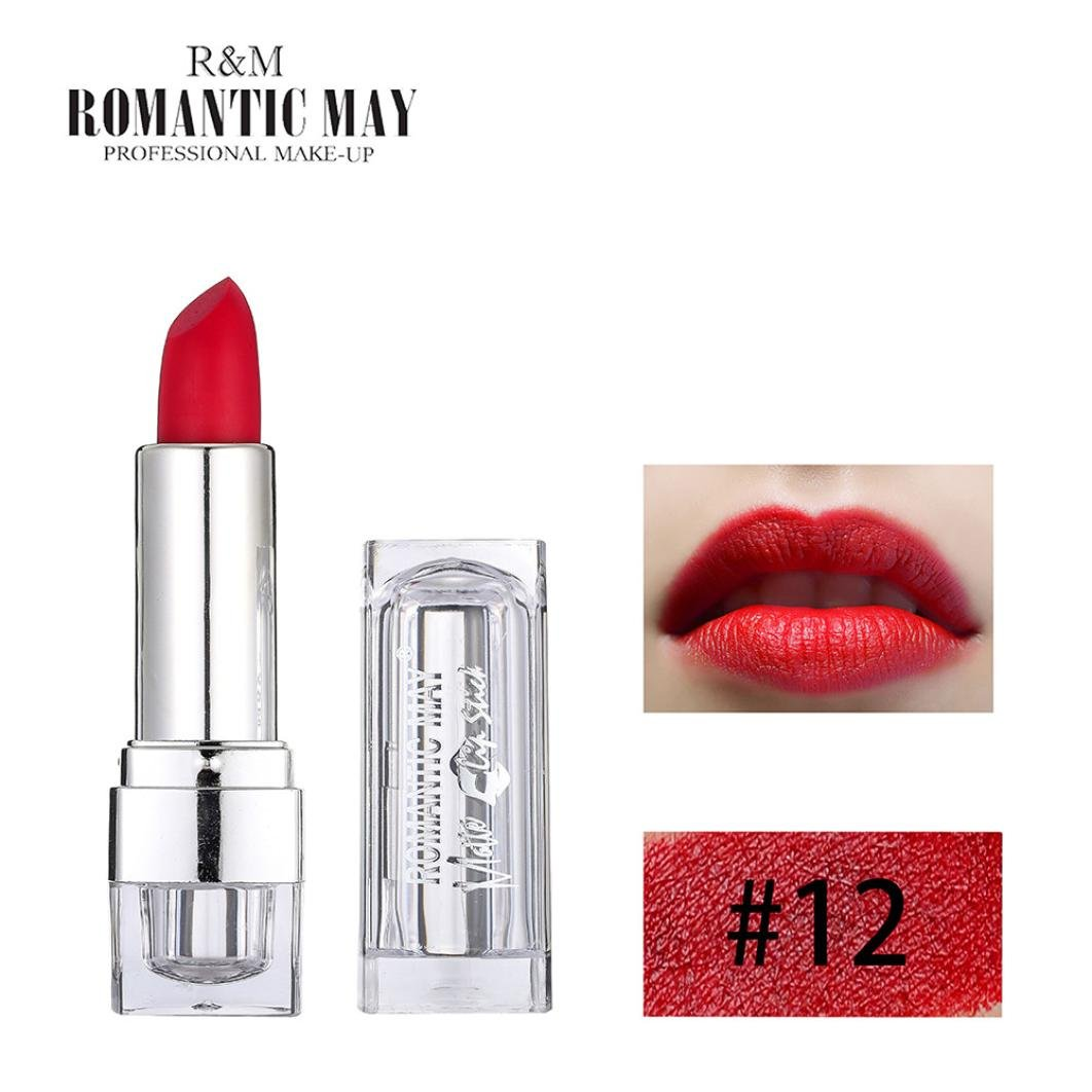 Gaddrt Romantic May Lipstick Waterproof Long Lasting Matte Lip