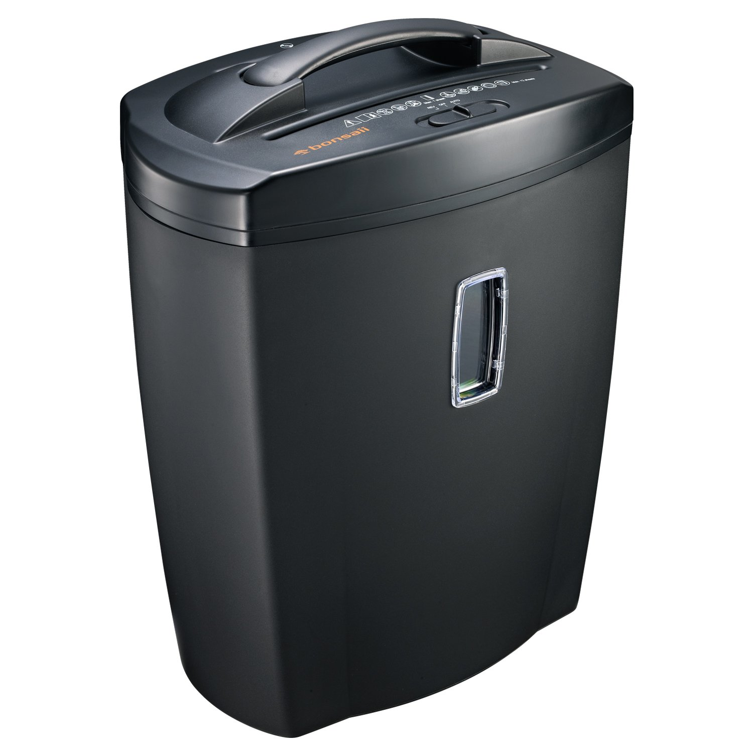 Bonsaii 8-Sheet Micro-Cut (4mm×10mm) Paper/CD/Credit Card Shredder