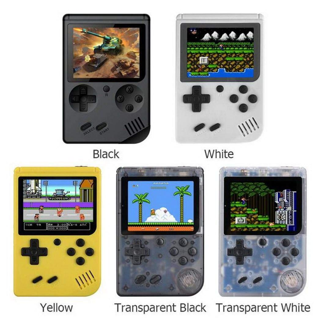 Weihill Portable Built-in 168 Games Mini Handheld Game Console Game Pads