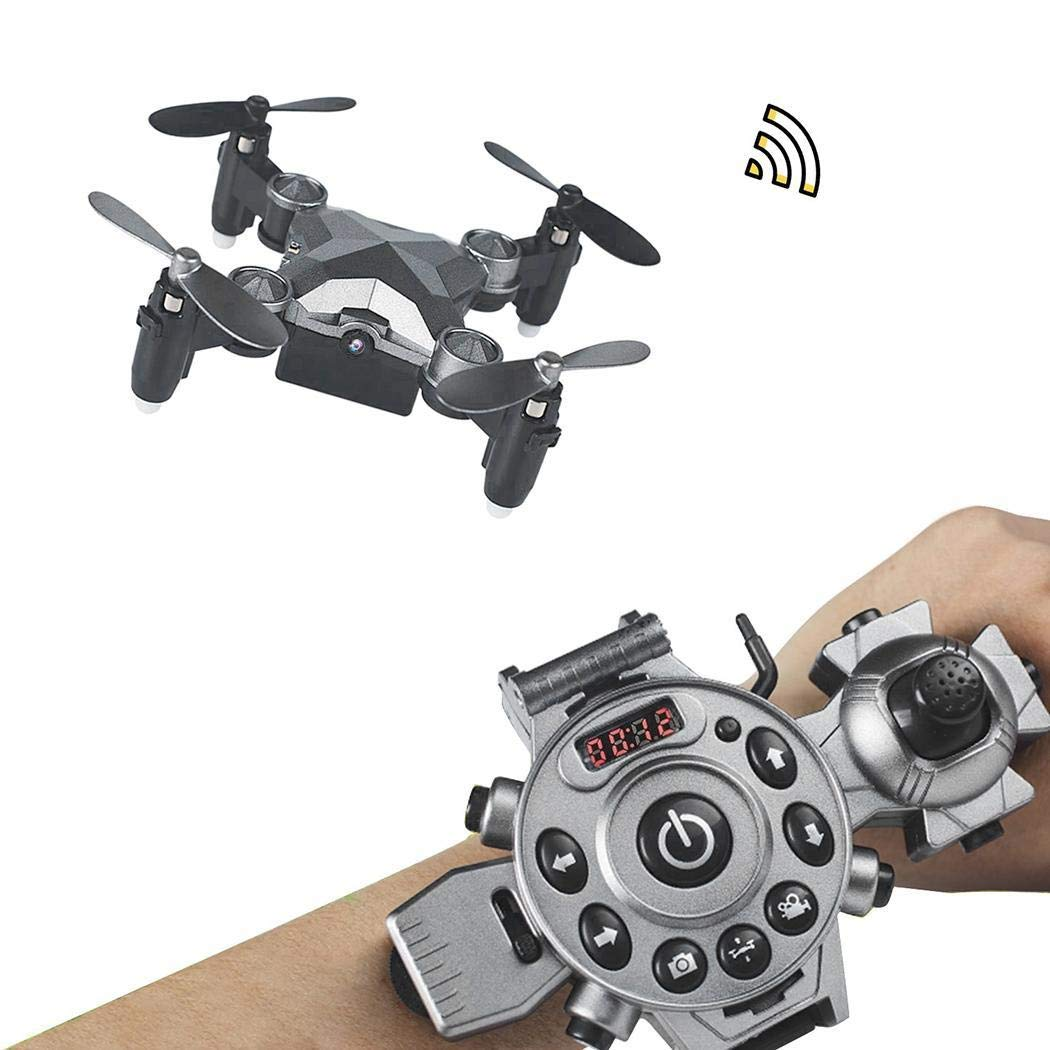 fatcatn DH800 Gravity Induction Watch Drone Remote Control Aircraft with Camera Helicopters; Quadcopters