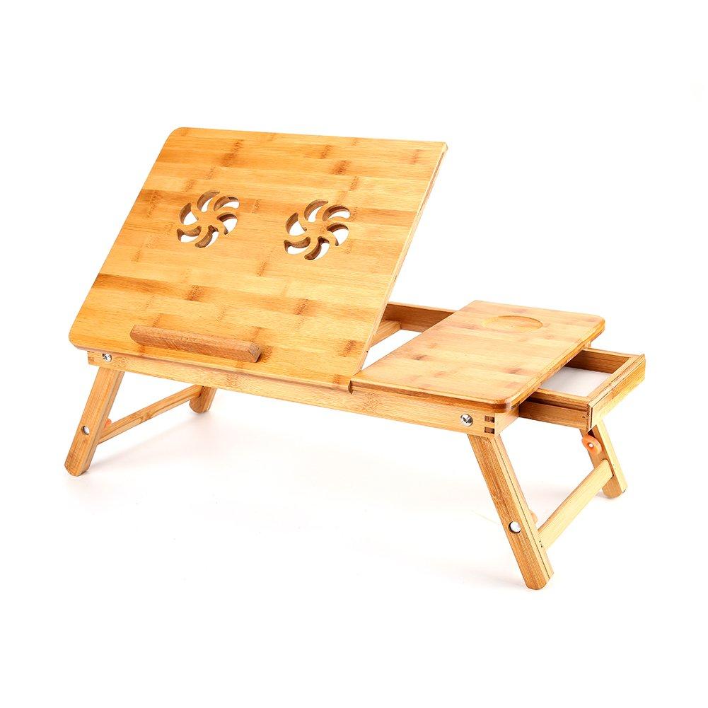 Wooden Folding Portable Laptop Desk