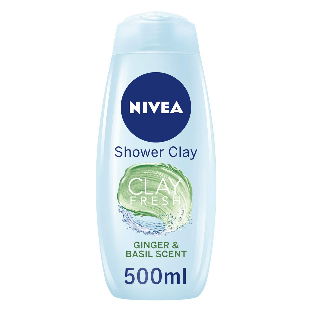 Nivea Clay Fresh Deep Cleansing Shower Gel, Pack of 6