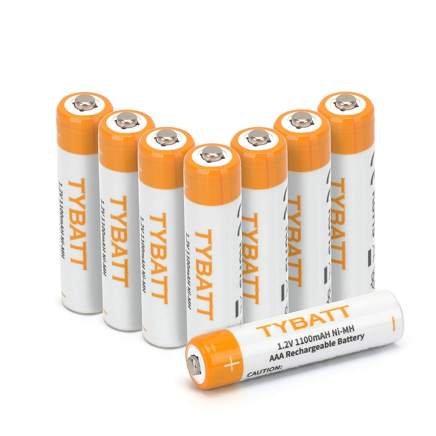 AAA 1100mAh Rechargeable Batteries