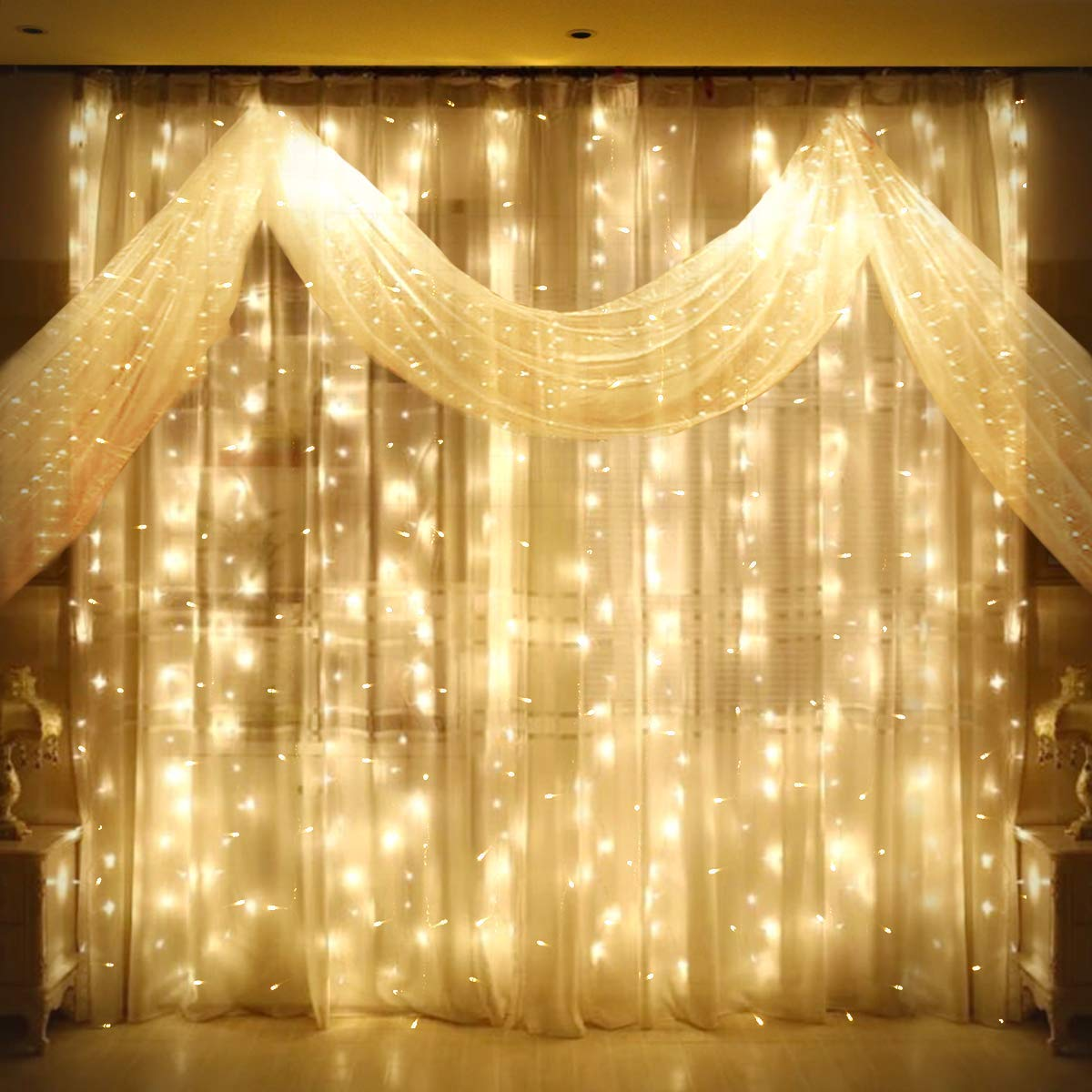 Curtain Lights 300 LED