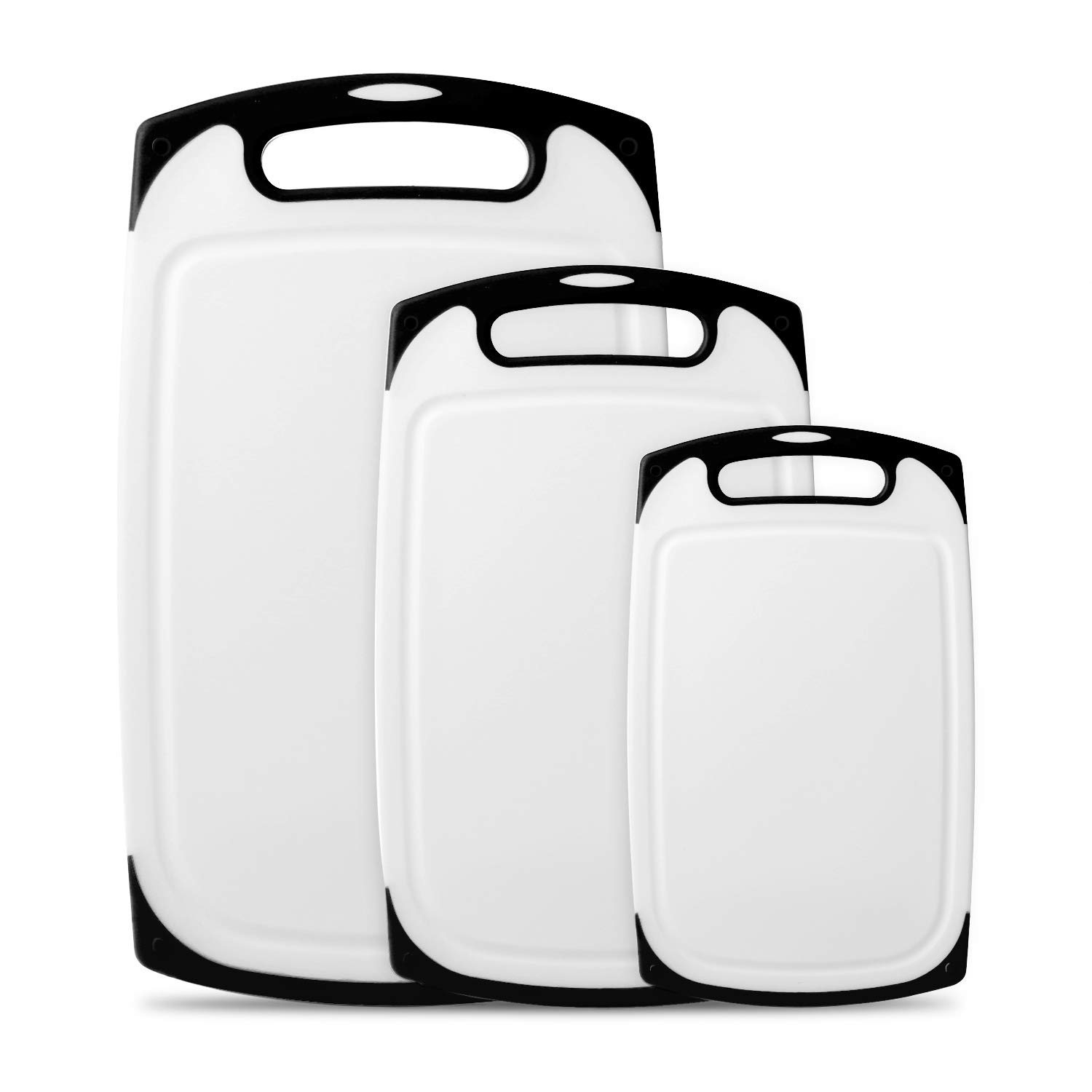 Plastic Cutting Boards Set of 3, Dishwasher Safe