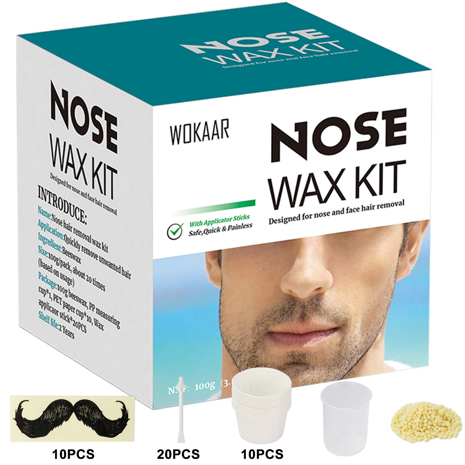 Nose Wax Kit for Men and Women