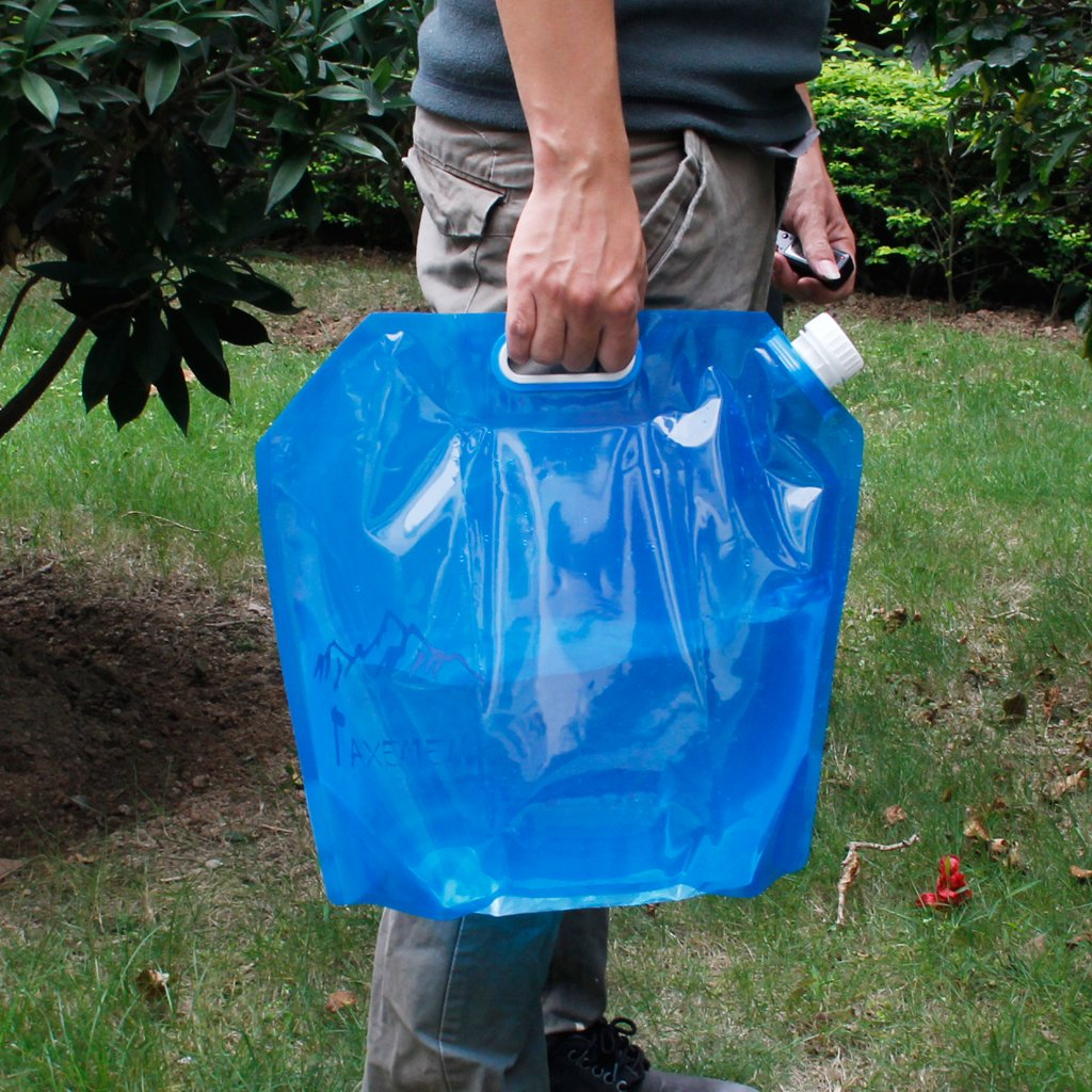 10L Folding Drinking Water Container Storage Bag