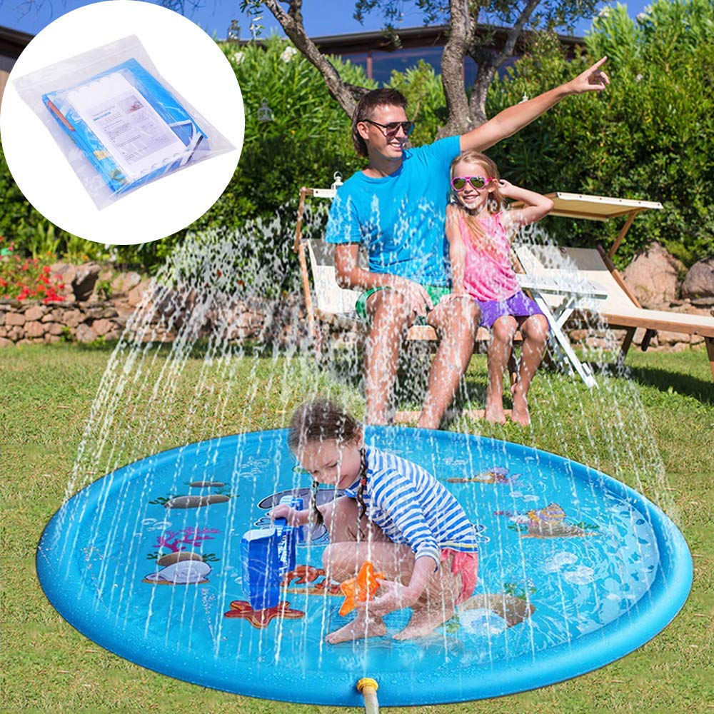 KLAS REMO Splash Pad 67'' 170cm, Sprinkler pad & Splash Play Mat