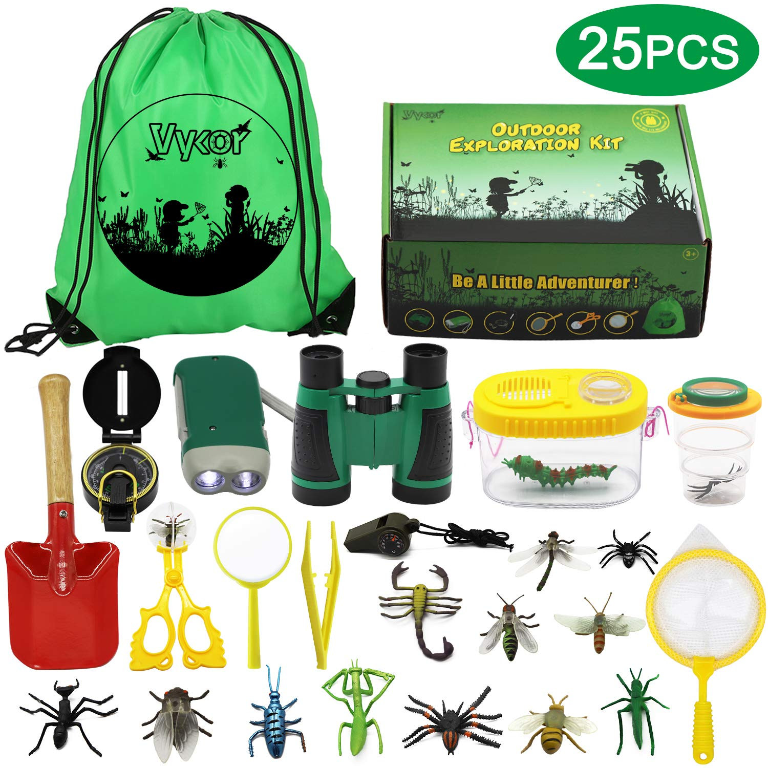 Vykor Outdoor Explorer Kit Toys Kids Adventure Kit