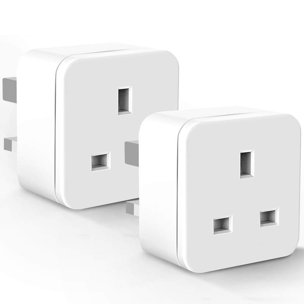WiFi Smart Plug Mini 13A&3300W ANOOPSYCHE Alexa Plugs Square