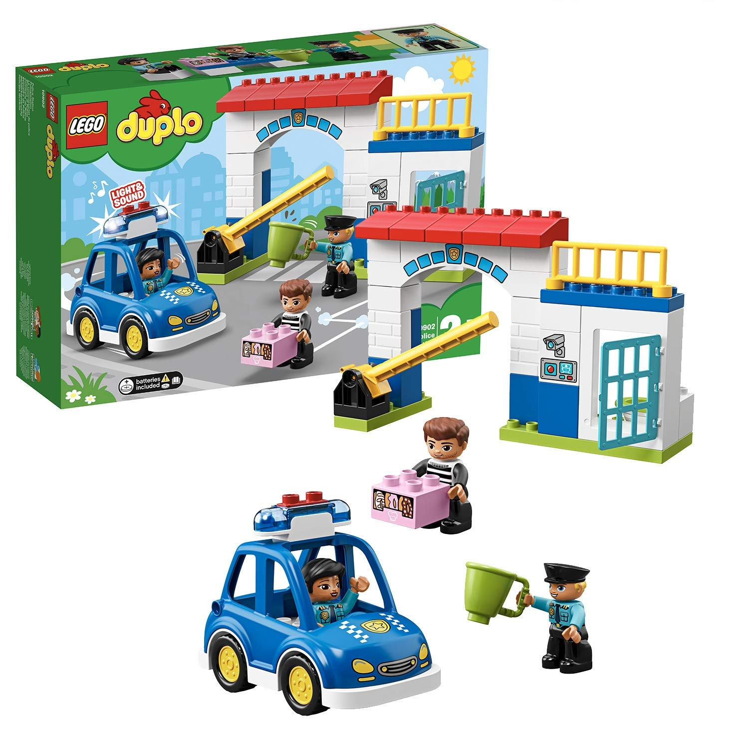 LEGO Duplo Town Police Station Building Blocks