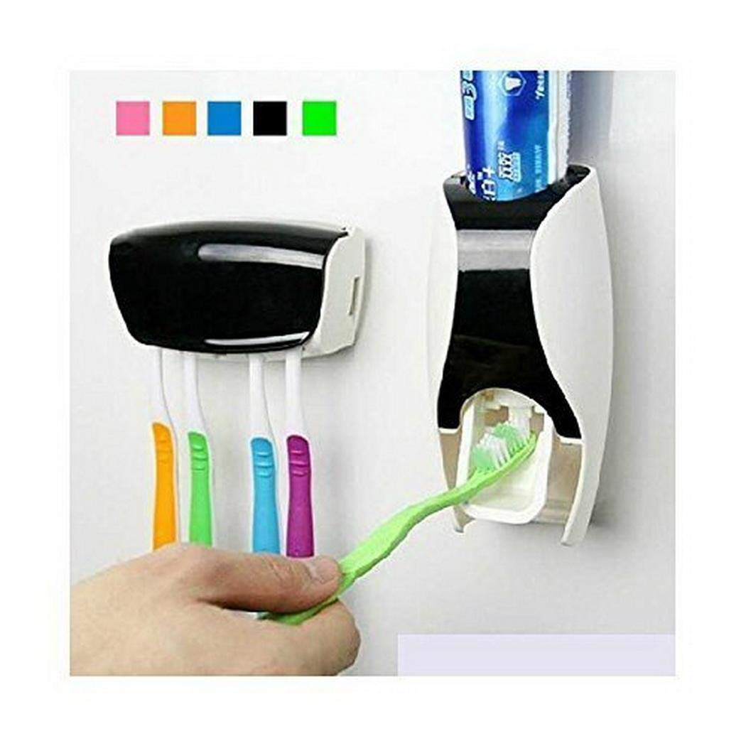 Automatic Squeezing Toothpaste Tool Toothbrush Holder Washing Set